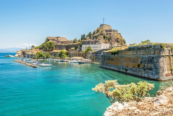 bigstock-The-Old-Fortress-Of-Corfu-69647785